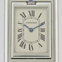 Cartier Tank (submodel) Steel 23mm White Roman numerals