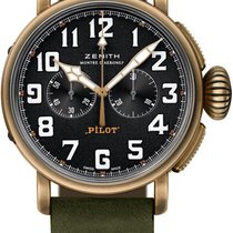 Zenith Pilot Type 20 Extra Special Bronze 45mm Black United States of America, New York, Airmont
