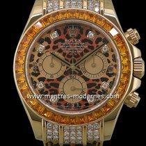 "Rolex Daytona ""leopard"" Réf.116598 Saco"