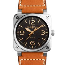Bell & Ross BR0392-ST-G-HE/SCA/2 2019 new