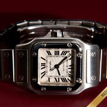 Cartier Santos Galbée Automatic All Stainless Steel W5135