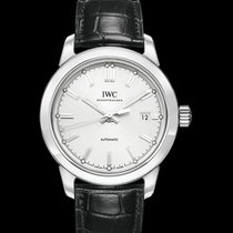 IWC Ingenieur Automatic Silver Steel/Leather 40mm - IW357001