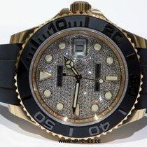 Rolex Yacht Master Everose Gold Ceramic Bezel Diamond Dial -...