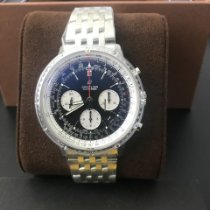 Breitling Steel Automatic Black 43mm new Navitimer 1 B01 Chronograph 43