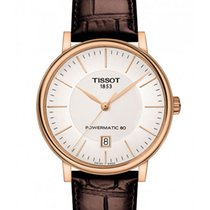 Tissot Rose gold 40mm Automatic T122.407.36.031.00 new
