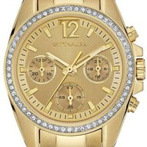 Wittnauer Lucy Chronograph Gold-Tone Ladies Watch