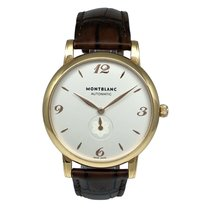 Montblanc Rose gold Automatic White Arabic numerals 40mm pre-owned Star Classique