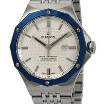 Edox 35mm Quartz new Silver