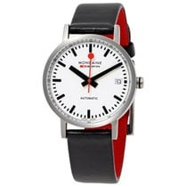 Mondaine Steel 33mm Automatic A128.30008.16SBC new