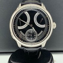 Maurice Lacroix Masterpiece Gravity Steel 46mm Black