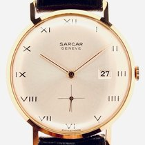 Sarcar Yellow gold 34.1mm 11/79 A new