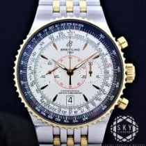 Breitling Montbrillant Légende Gold/Steel 47mm White No numerals United States of America, New York, NEW YORK