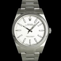 Rolex Oyster Perpetual 39 Ατσάλι 39mm Ασημί