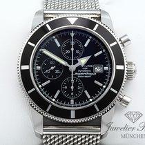 Breitling Superocean Héritage Chronograph Steel 46mm Black