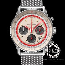 Breitling Navitimer 1 B01 Chronograph 43 Steel 43mm Silver United States of America, New York, New York