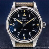 IWC Pilot Mark usados 40mm Negro Fecha Broche