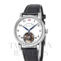 A. Lange & Söhne 1815 Platinum 39.5mm White Arabic numerals United States of America, New York, Hartsdale