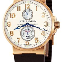 Ulysse Nardin Marine Chronometer 41mm Pозовое золото 41mm Aрабские