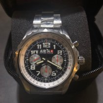 Breitling Chronospace Automatic Acier 46mm Gris Arabes