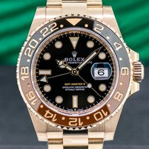 Rolex GMT-Master II Rose gold 40mm Black Arabic numerals United States of America, Massachusetts, Boston