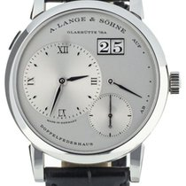 A. Lange & Söhne 191.025 Platinum Lange 1 38.5mm pre-owned United States of America, Illinois, BUFFALO GROVE
