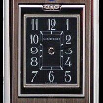Cartier Tank (submodel) Steel 22mm Silver Arabic numerals