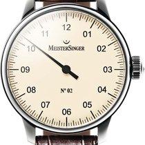 Meistersinger No 02 AM6603 Elegante Herrenuhr Zeitloses Design