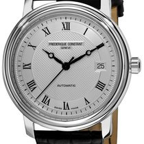 Frederique Constant Classics Automatic Steel 42.4mm Silver United States of America, New York, Brooklyn