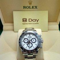 勞力士 (Rolex) 8DAYwatch-New  Cosmograph Daytona Steel White dial...