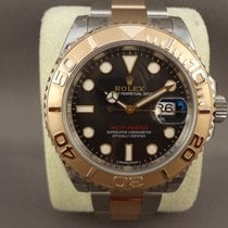 롤렉스 (Rolex) Rolex Yacht-Master steel/pink gold 116621 Black...