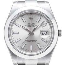 Rolex DATEJUST II SILVER  116300