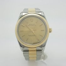 Rolex Oyster Perpetual Nondate 14233 Stainless Steel & 18k...