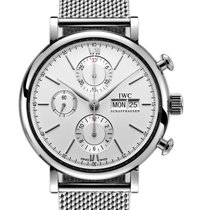 IWC Portofino Chronograph Aço 42mm Prata