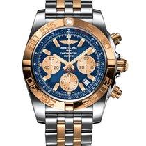 Breitling CHRONOMAT 44 STEEL & GOLD - METALLICA BLUE