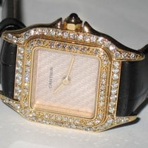 Cartier Panthère Yellow gold 24mm Silver No numerals United States of America, New York, NEW YORK CITY