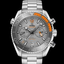Omega nouveau Remontage automatique Chronomètre Valve d'hélium 45.5mm Titane Verre saphir