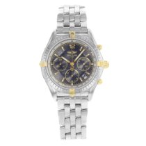 Breitling Chrono Cockpit Gold/Steel 37mm Grey No numerals United States of America, New York, NYC