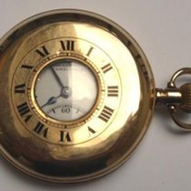 9ct Gold Swiss Half Hunter Pocket Watch