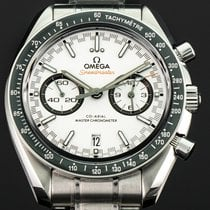 Omega Speedmaster Racing Staal 44mm Wit