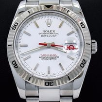 Rolex Datejust Thunderbird Turnograph 116264 18k White Gold...
