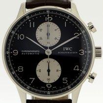IWC Portugieser Chronograph gebraucht 41mm Stahl
