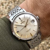 Omega Seamaster De Ville  crosshair vintage steel mens watch