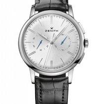 Zenith Elite Chronograph Classic Acier 42mm Argent Sans chiffres France, Thonon les bains