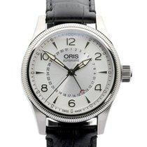 Oris Big Crown Pointer Date Steel 40mm Silver Arabic numerals