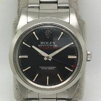 Rolex Milgauss Acél Fekete Számjegyek nélkül