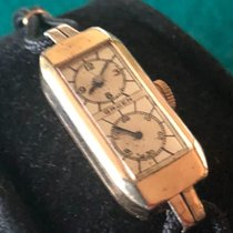 Gruen Yellow gold 35mm Manual winding pre-owned