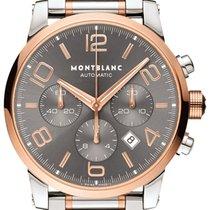 Montblanc Timewalker Steel 43mm Grey Arabic numerals