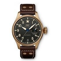 IWC Big Pilot Bronze Black Arabic numerals United States of America, Iowa, Des Moines