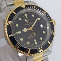 Margi Gold/Stahl 40mm Automatik Margi Submariner Automatic 40mm Steel/ Gold Ref 3011 +Box gebraucht