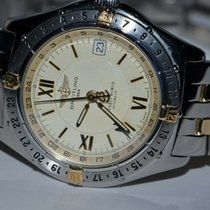Breitling Antares Gold/Steel 40mm Roman numerals United States of America, New York, Greenvale